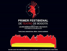 Primer Festibienal de Teatro en Bogotá