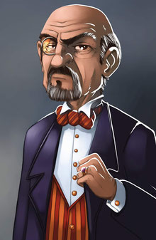 illus. : Pierô pour Mr.Jack, Hurrican Games (c)