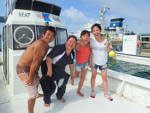 石垣島でのんびり体験ダイビング「出港」
