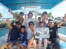 石垣島でのんびりダイビング「ファミリーダイビング」