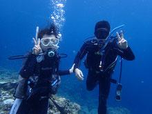 石垣島でのんびりダイビング「リフレッシュダイブ」