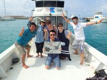 石垣島でのんびりダイビング出港
