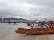 石垣島では、海神祭「ハーリー」が行われました。