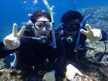 石垣島でのんびり体験ダイビング「2回潜ったよ!」