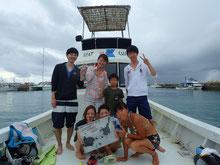 石垣島でのんびりダイビング「雷に負けず」