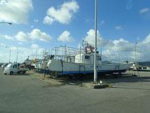 石垣島でのんびりダイビング「台風9号接近中」