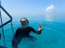 石垣島でのんびりダイビング「シュノーケリング」