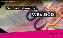 Skandal um die WBV GÖD Bild: Screenshot HP UGÖD bearbeitet:spagra
