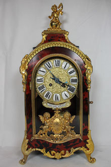 Französische Pendule Louis XV-Regence, ca. 1880