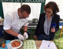 Radio France Bleu Picardie - Autrement restaurant - Bavaroise d'asperges vertes - Fete de l'ane Aux Marais