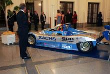 Rennwagen Gruppe C bei der Sachs Motorsportgala