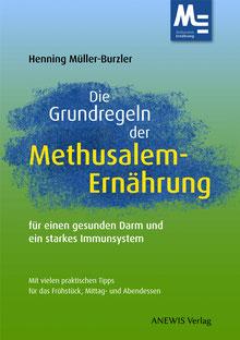 """Cover von """"Die Grundregeln der Methusalem-Ernährung"""", ANEWIS Verlag"""