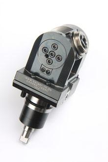 Angetriebene Werkzeuge: Radial Bohr- und Fräskopf, Winkelkopf verstellbar