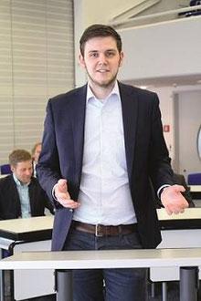 Fraktionsvorsitzender Patrick Büker