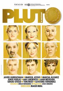Cartel de la obra 'Pluto'.