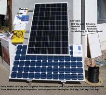 Solar Modul Photovoltaik