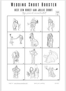 stoer leren jasje voor de bruid