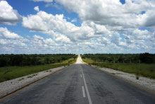 Heute vor einem Jahr: Fahrt von Windhoek nach Rundu