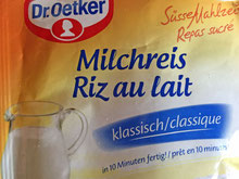 Mmmh, Milchreis mit Zimt-Zucker, einfach lecker!