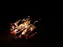 Unser Osterfeuer an den Epupafällen