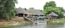 Nunda River Lodge am Kavango in Divundu