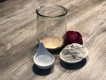 Sauerteig im Weckglas mit Roggenmehl