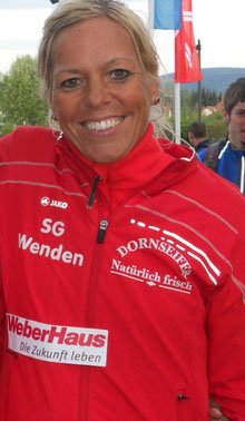 Gesamtsiegerin in Essen: Christl Dörschel