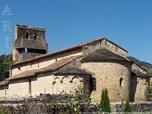 L'église romane de Vic d'Oust