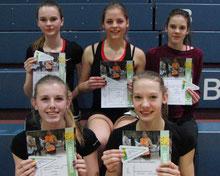 Fünf Wimpel: Das WJU16-Team der LG Sieg