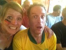Germany (ich) vs. Brazil (Robin), WM 2014, der Tag des 7:1