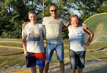 v.l.: Rene, Monte, Walter