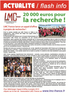 lmc france soutien recherche leucemie myeloide chronique leucémie myéloïde recherche cancer sang Nicolas Dulphy delphine Rea Hôpital Saint-Louis Paris IMMUNOSTIM cellules Natural Killer