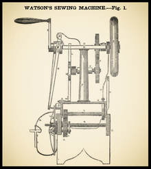 1850 sewing machine