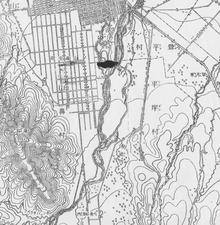 明治29年札幌地形図
