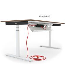 Kabelwanne #cable-pro des ELIOT Schreibtisches