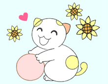 Lucky Cat & Smiles 2 lovely, LINE Sticker