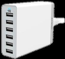 USB-Verteiler zum Gleichzeitigen Laden mehrerer iPads oder Tabletts