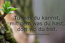 Vielen Dank Herr Roosevelt für diese Worte!