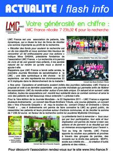 LMC CML LEUCEMIE leucémie myéloïde chronique lmc france Mina Daban