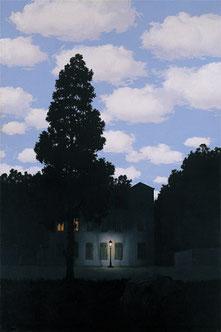 ソロモン・R・グッゲンハイム美術館所蔵「光の帝国」(1953-54年)