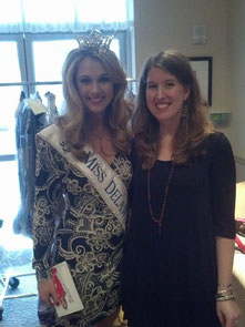 Miss Delaware, Rebecca Jackson, Miss DE scholarship fund fashion show