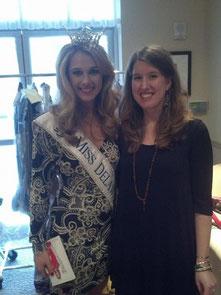 Miss Delaware, Rebecca Jackson, Miss DE scholarship fund fashion show