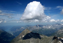Schöne Cumuluswolke