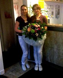 Marina Istakharova und Sonja Pauline Stolte
