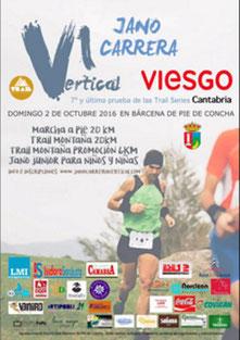 VI JANO CARRERA VERTICAL - Barcena de Pie de Concha, 02-10-2016