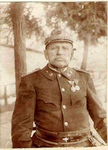 Feuerwehrkommandant Vinzenz Vogler