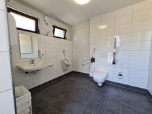 Innenansicht WC-Raum