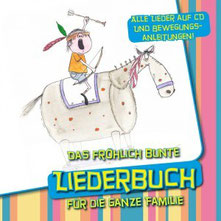 Cover: Das fröhlich bunte Liederbuch