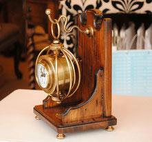 置時計 時計 古木 ポプラ古木 テーブルクロック アンティーク クラシック イタリア製 カパーニ CAPANNI 輸入インテリア