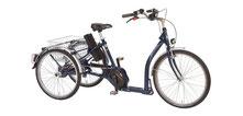 Pfau-Tec Verona Dreirad und Elektro-Dreirad für Erwachsene - Shopping-Dreirad 2017